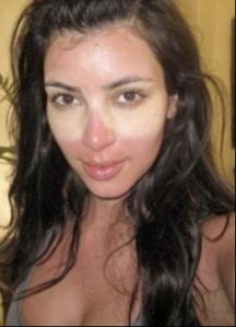 Kim Kardashian. Of course. (via the Daily Mail)